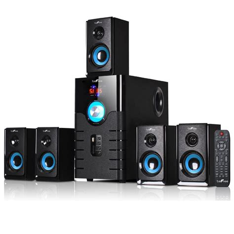 befree 5 1 channel home theater surround sound speaker