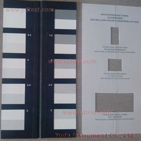 color scale for aatcc gray scale for color change ydbay webshop