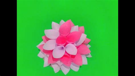 How To Make Paper Tole - how to make decorative paper flower my crafts and diy