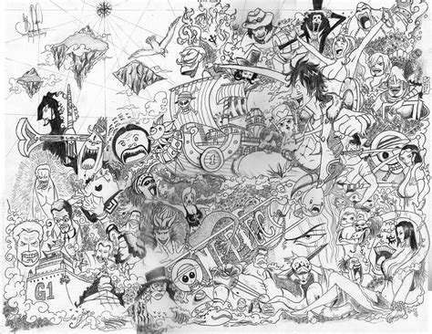 Imagenes De One Piece A Lapiz | one piece dibujo a l 225 piz youtube