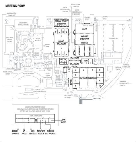 anaheim convention center floor plan anaheim convention center hotels anaheim marriott hotel
