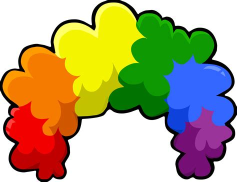 image puffle care icons head rainbowfro png club