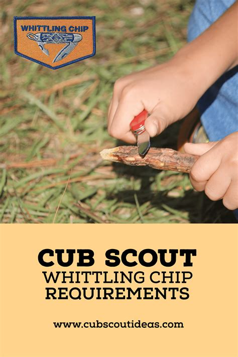 whittling handbook cub scout ideas tips for cub scout leaders parents
