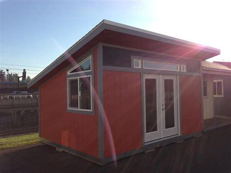 modern tuff shed