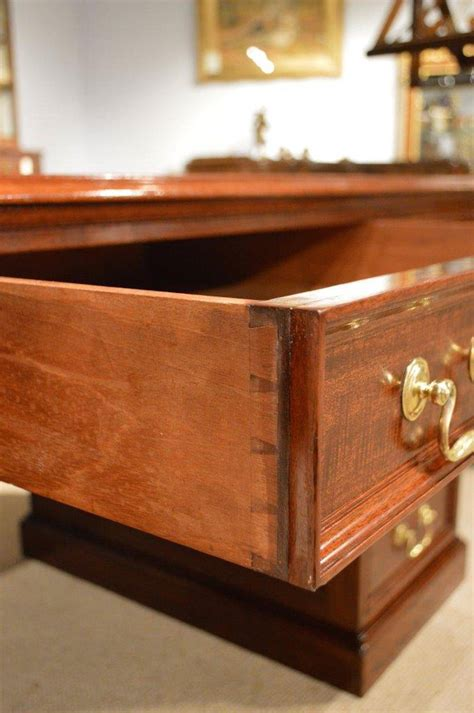 Vintage Desk Copies by Mahogany Antique Desk By Gillows Of Lancaster At 1stdibs