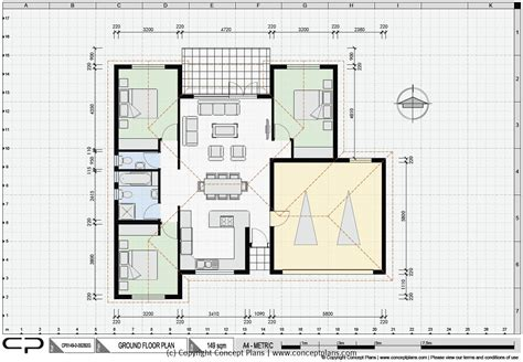 Sle Floor Plan For House | cad house floor plans house plan 2017