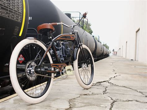 Kaos Fangkeh Since 1903 Biker Motorcycle Pin Up motorized bicycles by phantom bikes leatherup