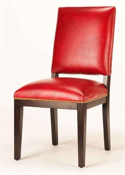 manchester leather dining chair