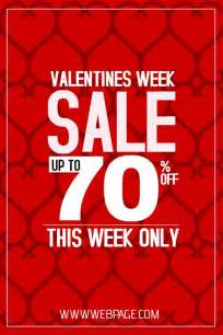 Valentine S Week Sale Poster Template Click To Customize Valentine S Poster Templates Sale Poster Template