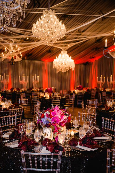 a chic and sophisticated themed wedding inside weddings