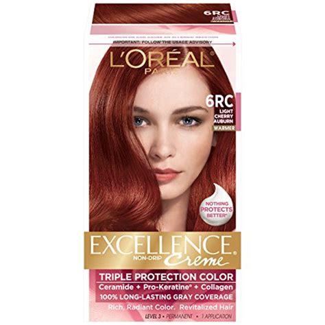 Hair Detox Colour Excellence by L Oreal Excellence Creme 6rc Light Cherry Auburn