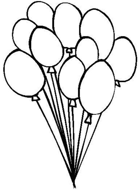 balloon designs pictures balloon coloring pages