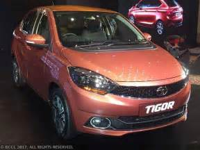 new tata car launch tata tigor tata motors launches compact sedan tigor at an