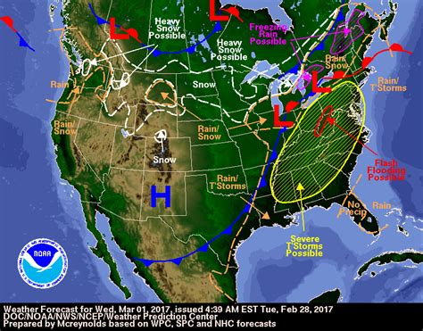 us weather map for wednesday mild temperatures and weak weather impulses updraft