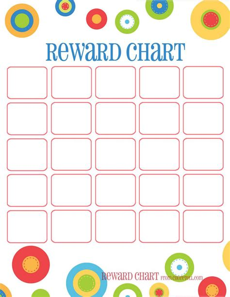 free printable reading incentive charts training chart reward chart all four of these portrait