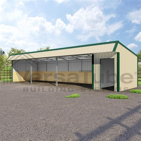 Loafing Shed Kits by Single Slope Loafing Shed 12 X 42 X 10 8 Barn Or