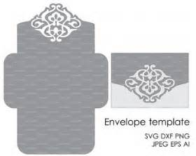 Free Silhouette Cameo Templates Floral Wreath Lace Wedding Invitation Pattern Card 5x7