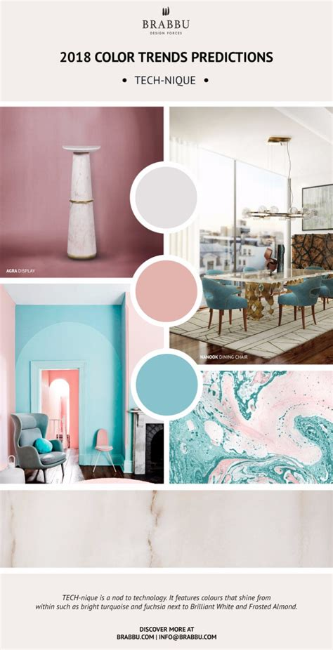 2018 color trends predictions the design trend guide you