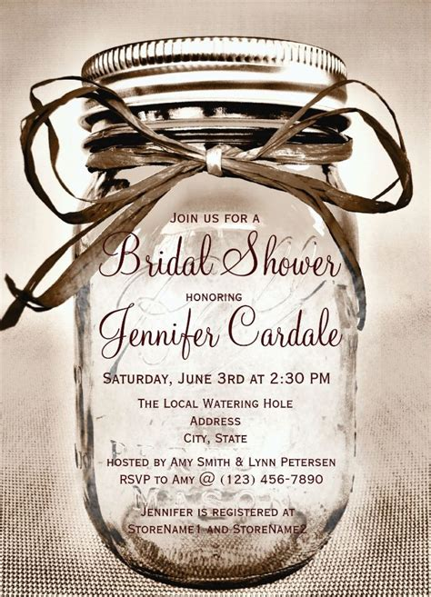 bridal shower wedding invitations by jinaiji