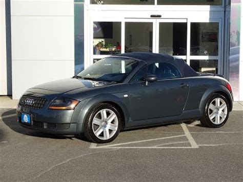 2005 audi tt 2005 audi tt roadster quattro t8922c