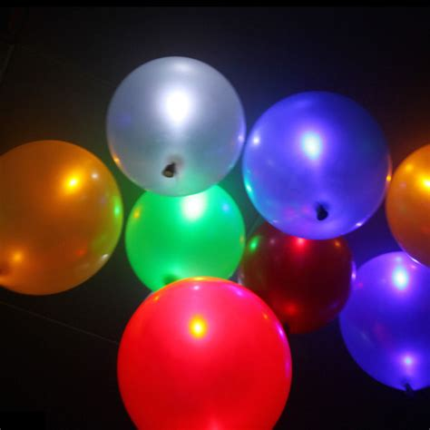 helium color 50 pack led helium balloons assorted colors tanga