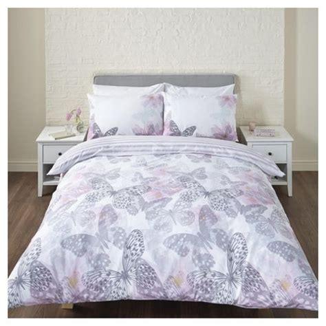 Tesco Bedding Set Buy Pink Floral Butterfly Single Duvet Set From Our Single Duvet Covers Bedding Sets Range Tesco