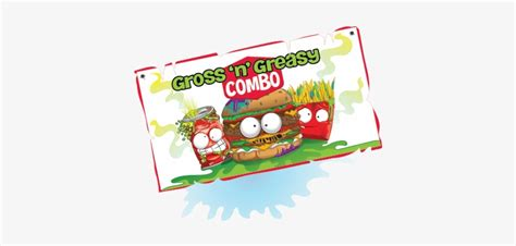 Gross And Greasy Pic Grossery Gang Posters Transparent