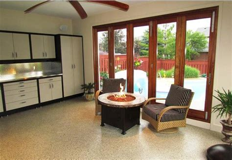 Covered Outdoor Kitchen Plans garage converted to pool cabana outdoor covered patio