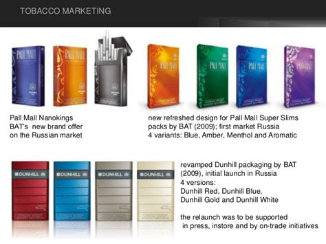 pall mall colors tobacco marketing types of advertisement advertising