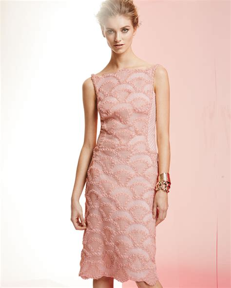 pattern for black lace dress lyst tadashi shoji sleeveless lace sequin pattern