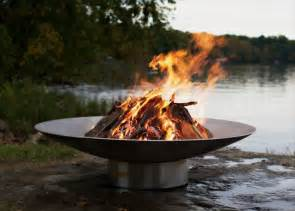 The Fire Pit by Impressive Outdoor Fire Pits Using Iron Amp Stone
