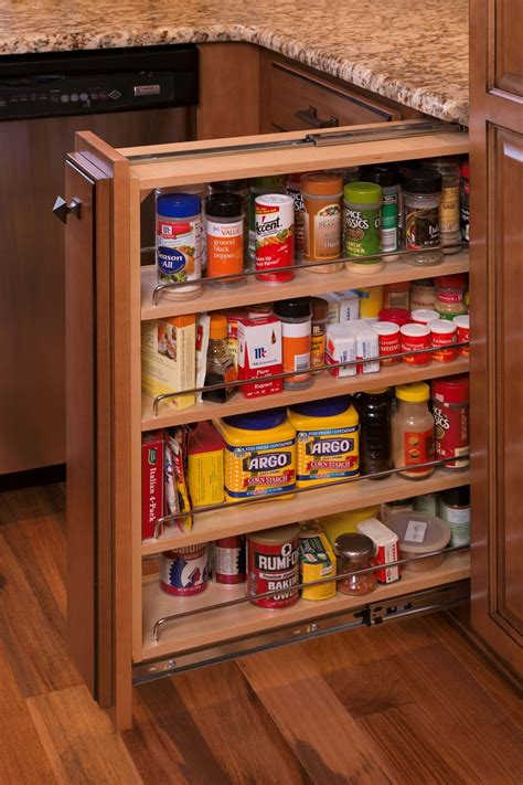 Spice Rack Pull Out pull out spice rack for the home