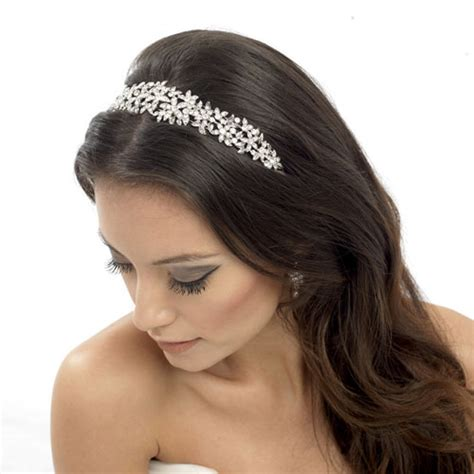 Vintage Wedding Hair Bands Uk by Floral Wedding Headband Serena Zaphira Bridal