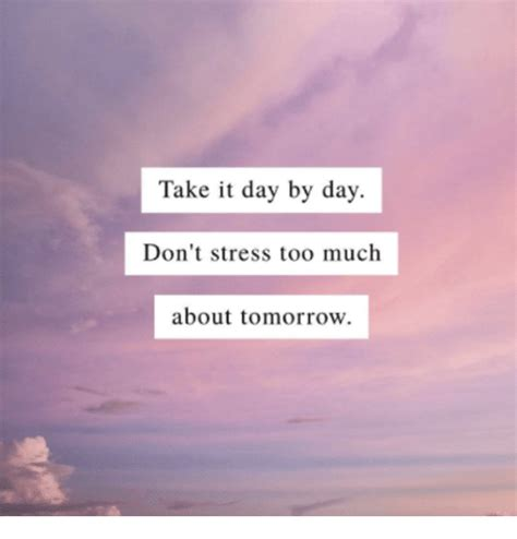 Don T Get Stressed Over The Little Things And Make Sure - 25 best memes about day by day day by day memes