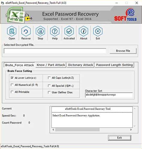 Recover,Remove Excel Password → Excel Password Remover Free Excel Worksheet Password Cracker