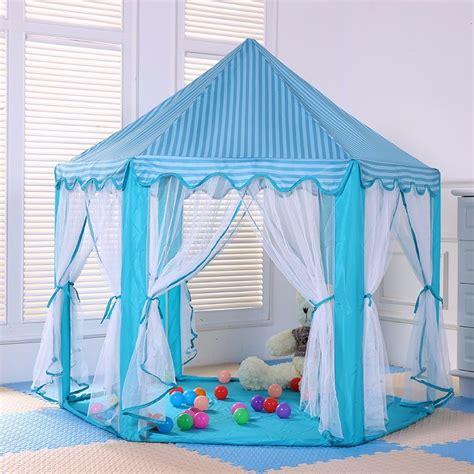 Tenda Anak Jakarta tenda bermain anak model istana portable tent blue