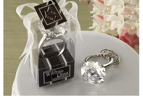 Wedding Gift Giveaway Ideas - free shipping 20pcs lot weddig giveaway gifts keychain wedding ideas keychains
