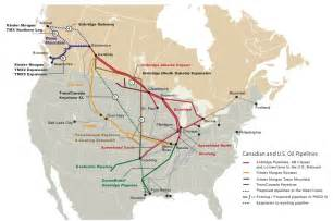 pipelines in canada map with keystone xl in limelight enbridge plans aggressive