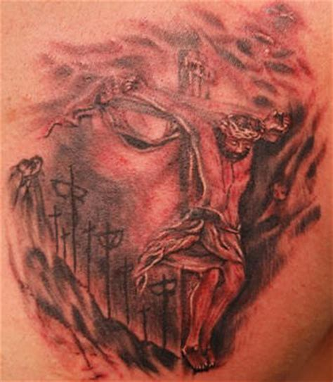 three dimensional tattoos free designs 3 dimensional of jesus on cross