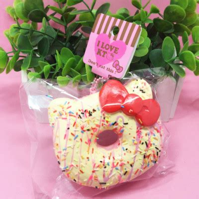 Squishy Hello Cake No authentic sanrio sprinkles strawberry marshmallow jumbo