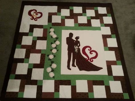 Wedding Memory Quilt by You To See Wedding Memory Quilt By Cfredericks22