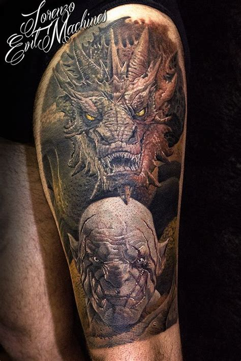 hobbit tattoo 25 best ideas about smaug on