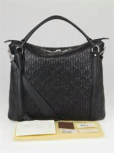 louis vuitton black monogram antheia leather ixia mm bag