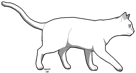 cat template cat template cliparts co