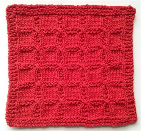 how to knit a washcloth swish with a twist knitted washcloth pattern knitting
