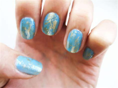 nail art gold leaf tutorial gold leaf nails by ioanaz on deviantart