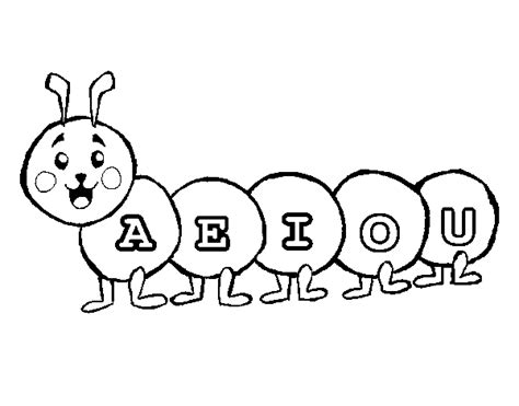 Free Coloring Pages Of With Activities Vowels