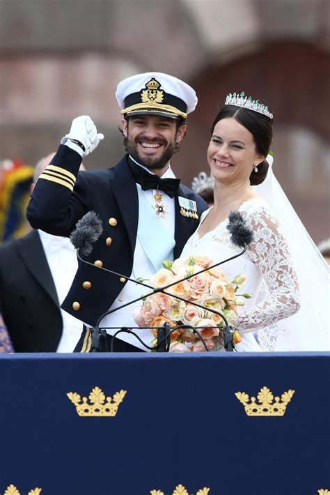 Best Swedish Royal Wedding Pictures 2015   POPSUGAR Celebrity