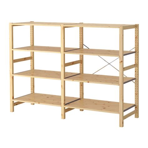 ikea shelving ivar 2 sections shelves ikea