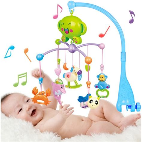 Electronic Crib Mobile by Baby Mobile Rattle Infant Crib Bed Bell Toys Sleep